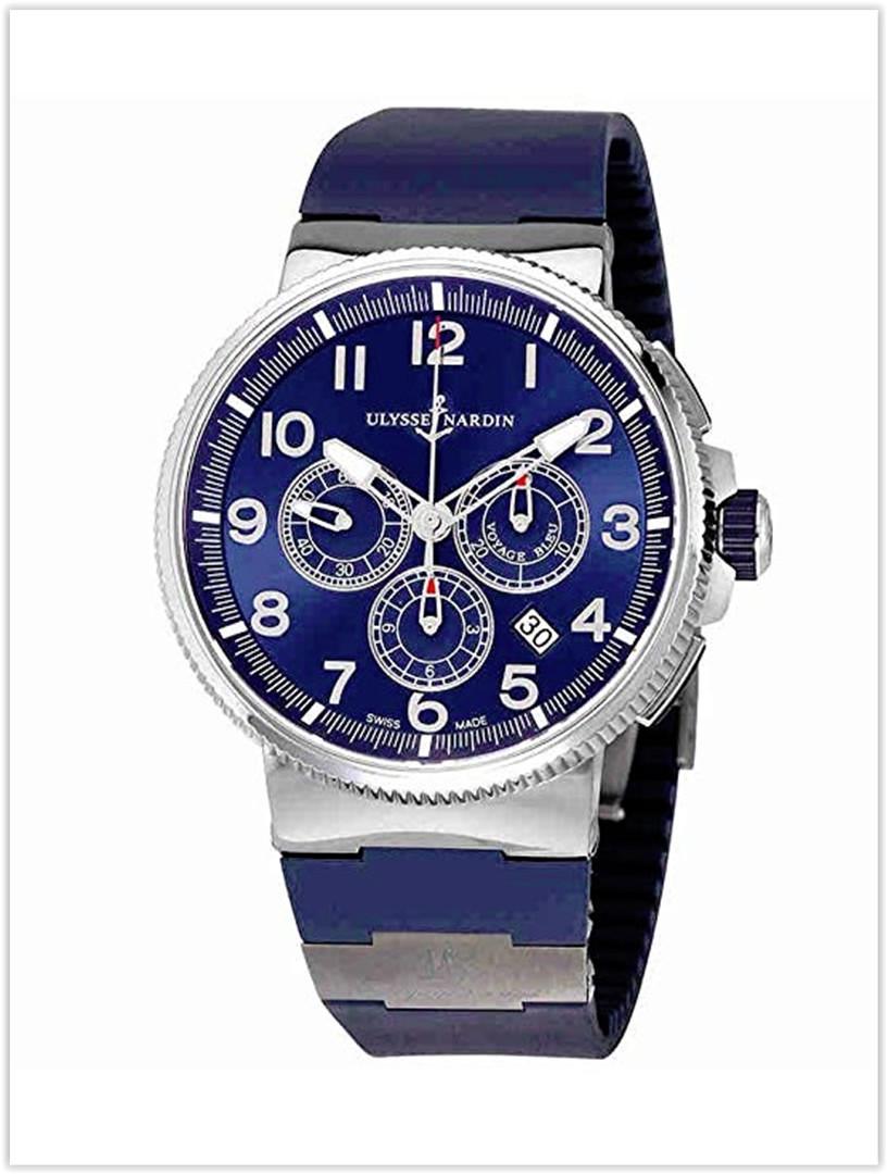 Ulysse Nardin Marine Chronograph Automatic Mens Watch Price