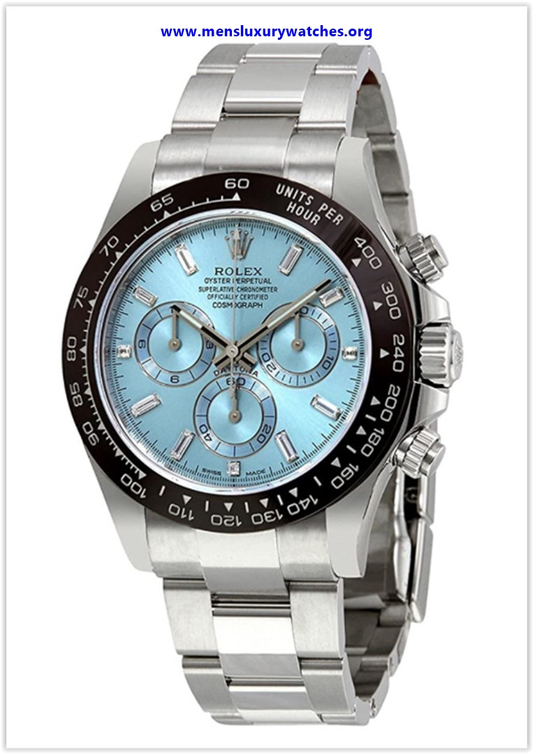 Best buy Rolex Oyster Perpetual Cosmograph Daytona Ice Blue Dial Automatic Men's Chronograph Watch