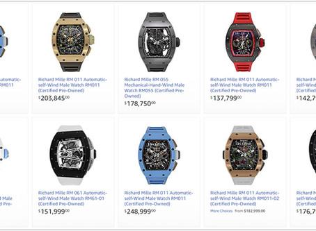 Richard Mille Men's watches price list