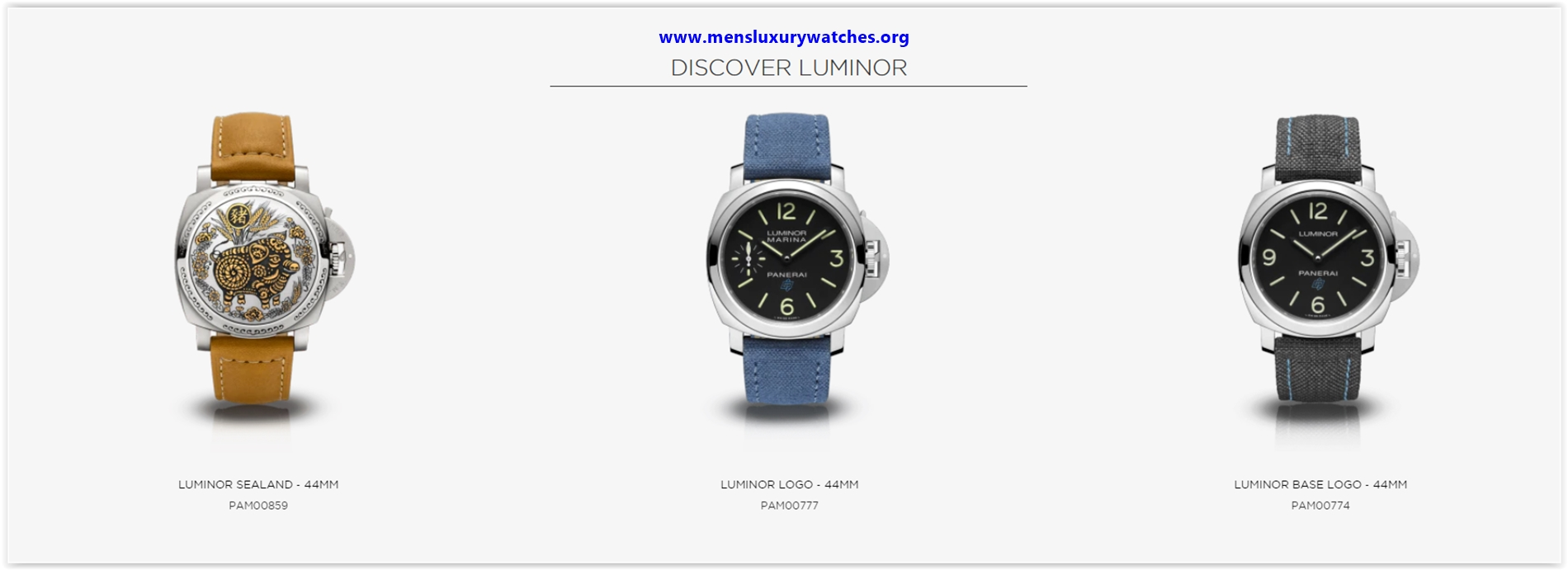2020 series Panerai watches preferred by strong men in the United States