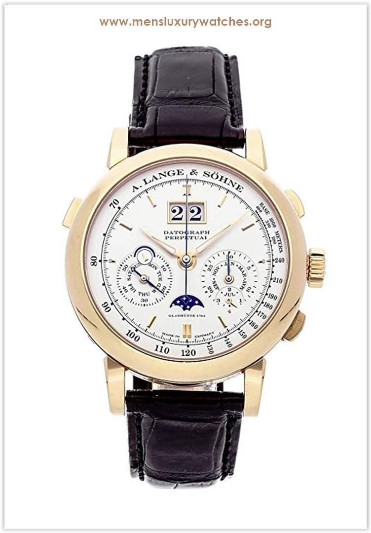 A. Lange & Sohne Saxonia Mechanical (Hand-Winding) Silver Dial Men's Watch Price
