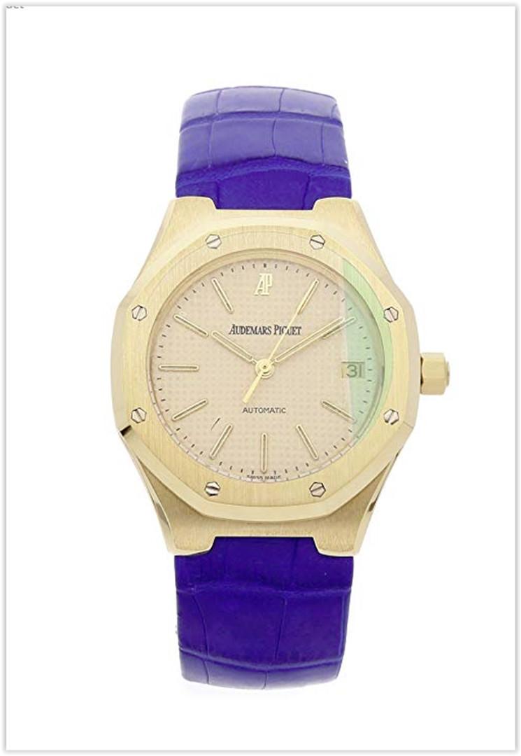 Audemars Piguet Royal Oak Mechanical (Automatic) Ivory Dial Men's Watch Price