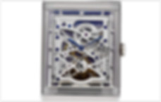 Jaeger-LeCoultre Reverso Mechanical Skeletonized Dial Men's Watch