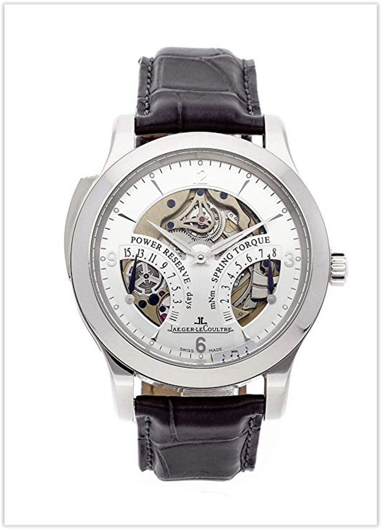 Jaeger-LeCoultre Master Mechanical (Hand-Winding) Silver Dial Men's Watch price for the new year 2019