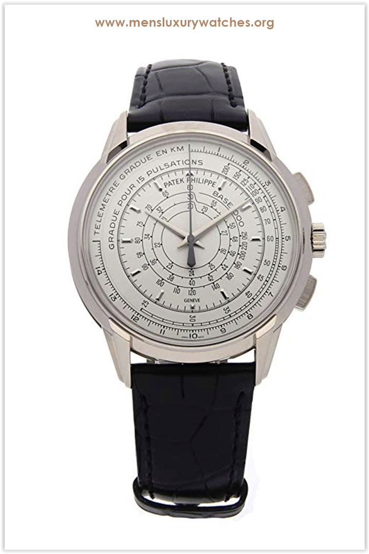 Patek Philippe Chronograph Mechanical (Automatic) Silver Dial Men's Watch the best price