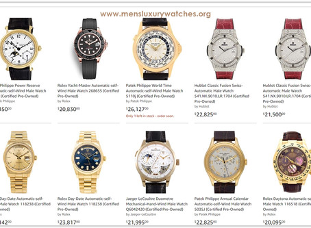 Luxury shopping guide for the weekend: Top 10 luxury watches for men