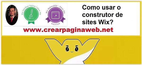 Como usar o construtor de sites Wix?