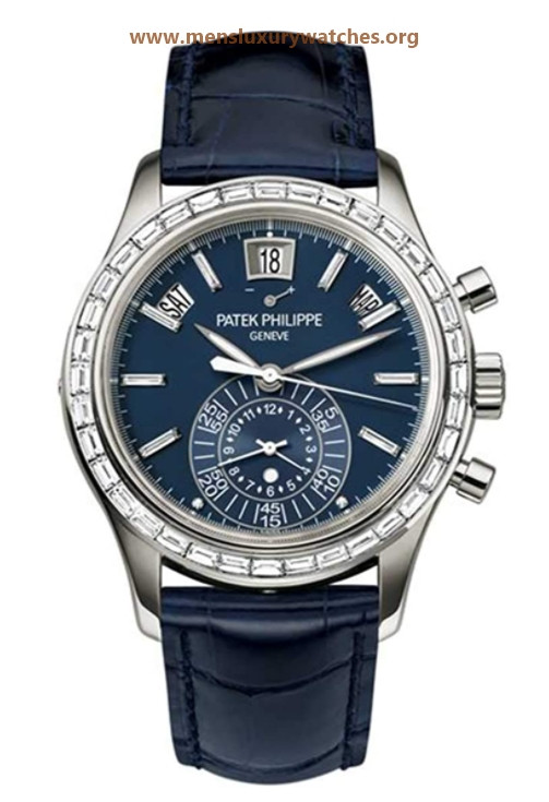 Patek Philippe Complications Automatic Chronograph Platinum Mens Watch 5961P-001