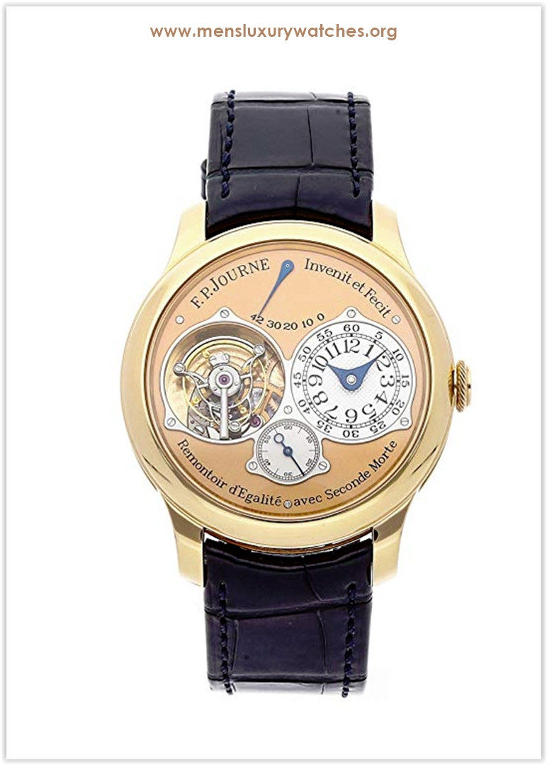 F.P. Journe Souverain Mechanical (Hand-Winding) Rose Dial Men's Watch Tourbillon Souverain Price