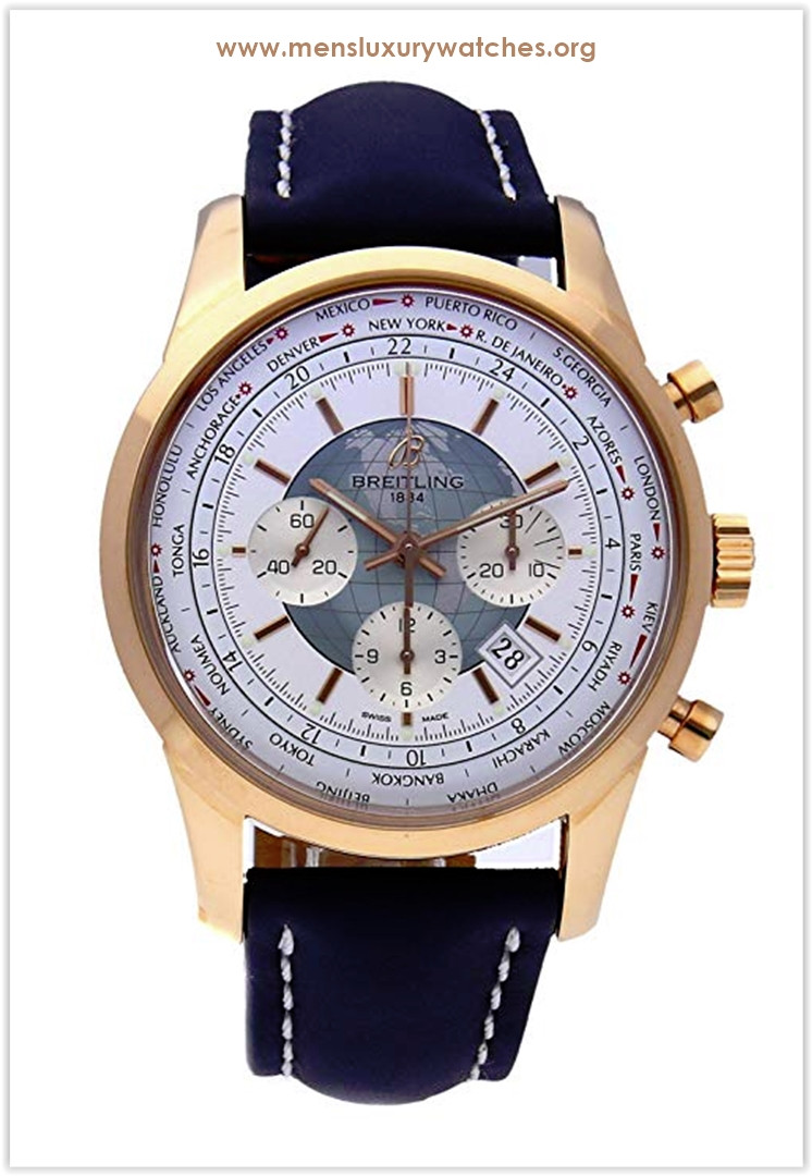 Breitling Transocean Mechanical Blue Dial Men's Watch Price