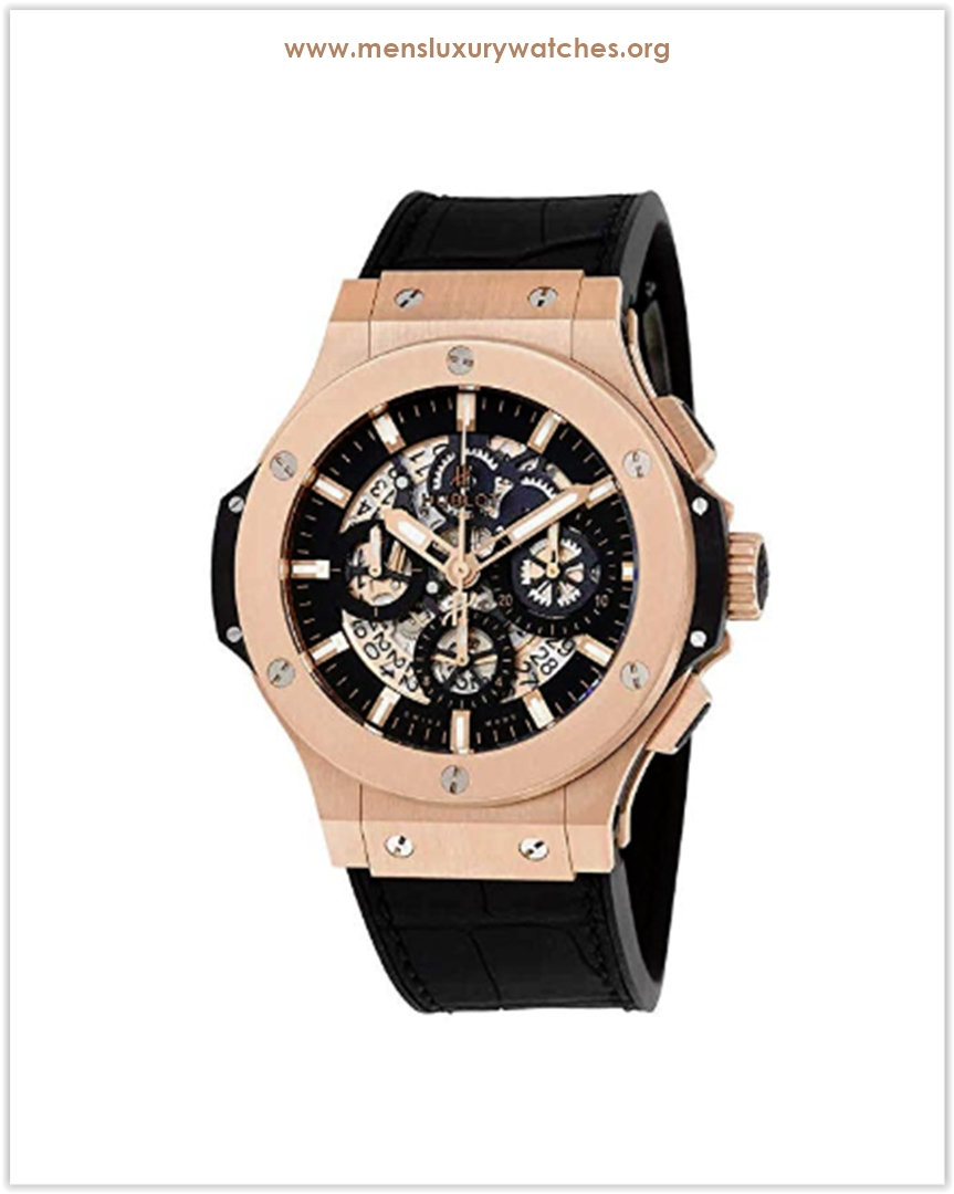 Hublot Aero Bang Gold Men's Watch Price.
