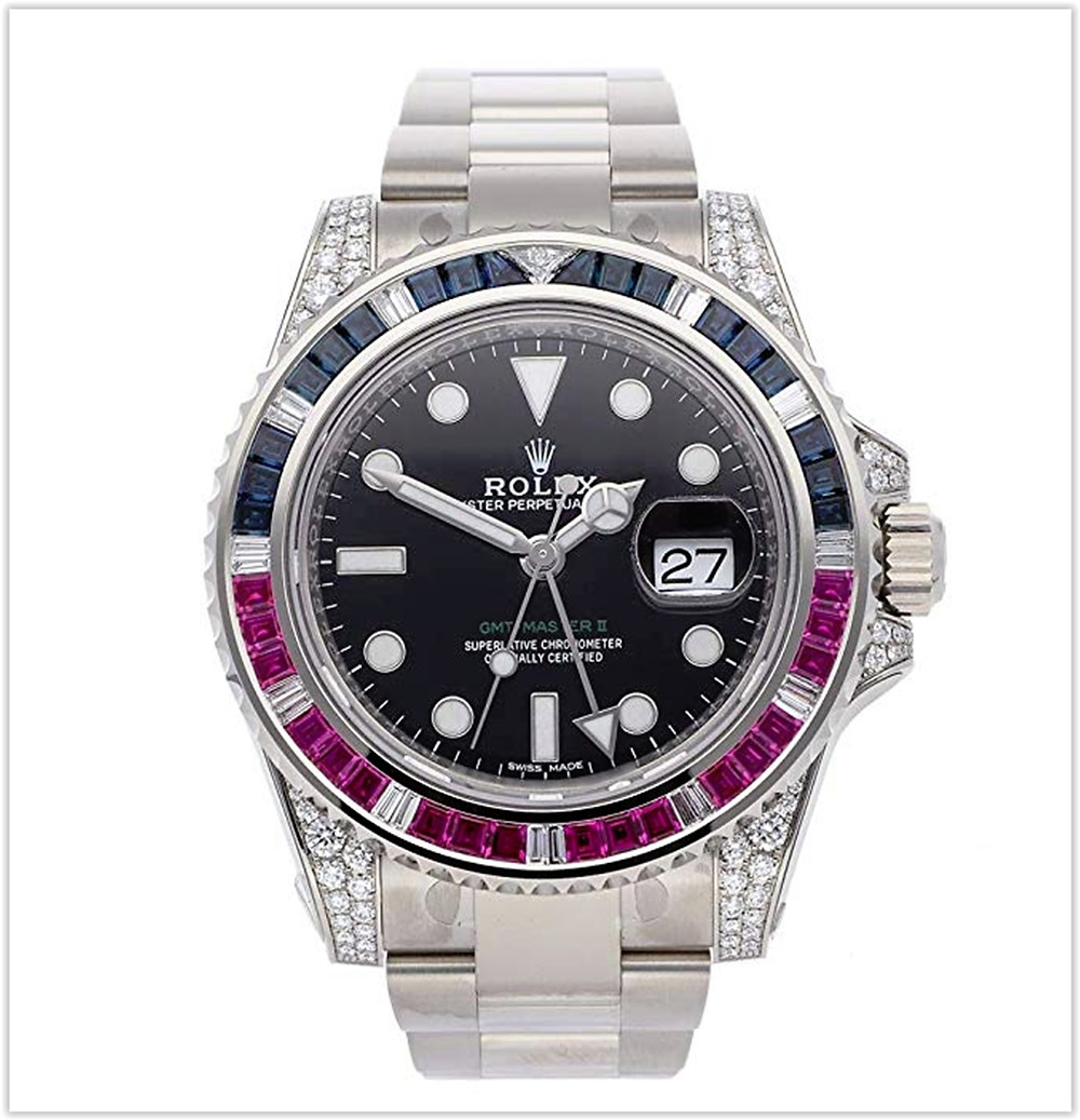 Rolex GMT Master II Mechanical (Automatic) Black Dial Mens Watch best price