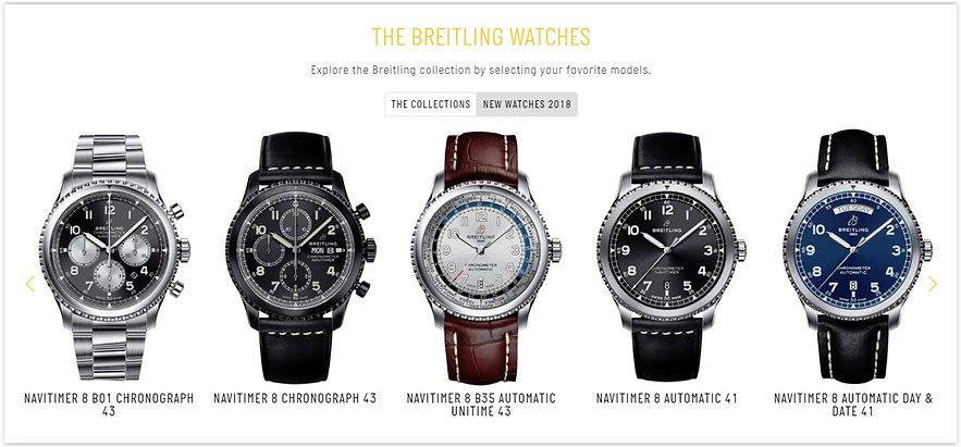 Breitling Online Watch Store