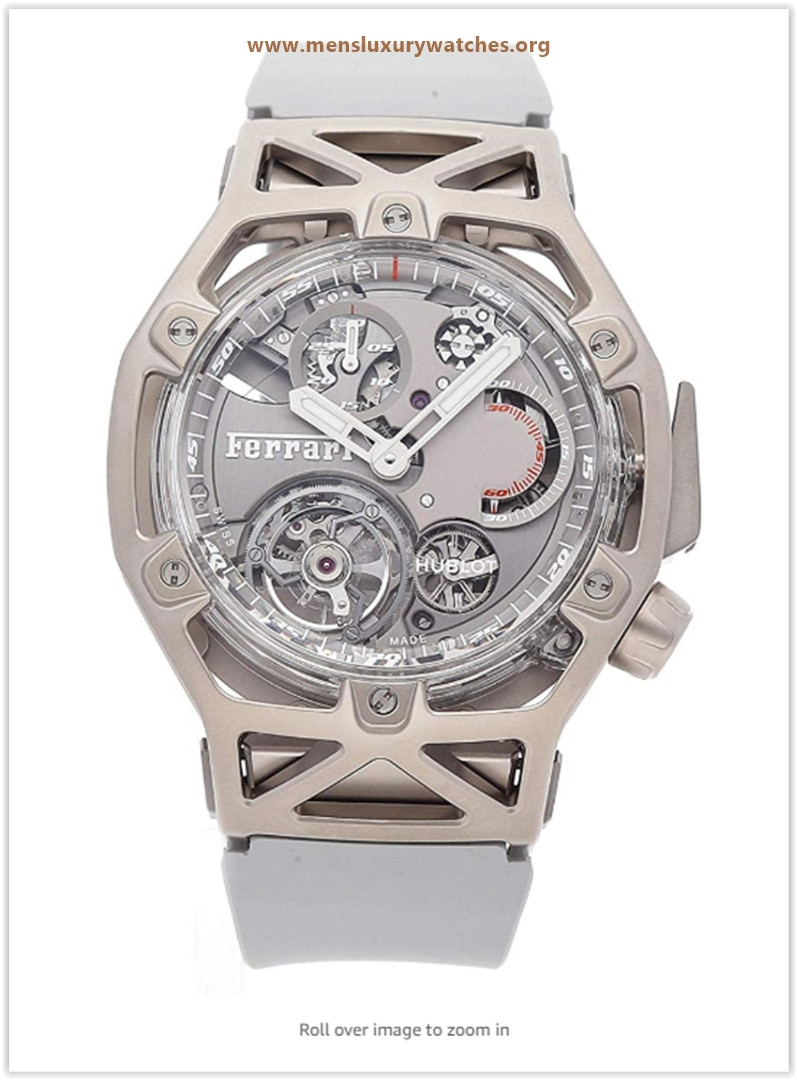 Hublot Techframe Ferrari Mechanical (Hand-Winding) Grey Dial Mens Watch price