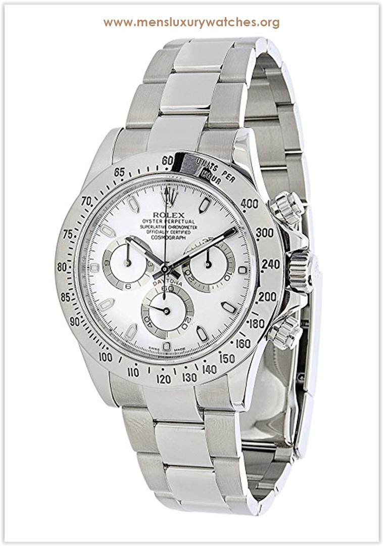 Rolex Daytona Oyster Perpetual Cosmograph Men's Watch Price