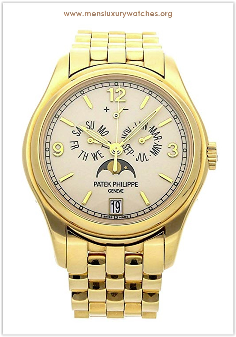 Patek Philippe Complications Mechanical (Automatic) Cream Dial Men's Watch the best price