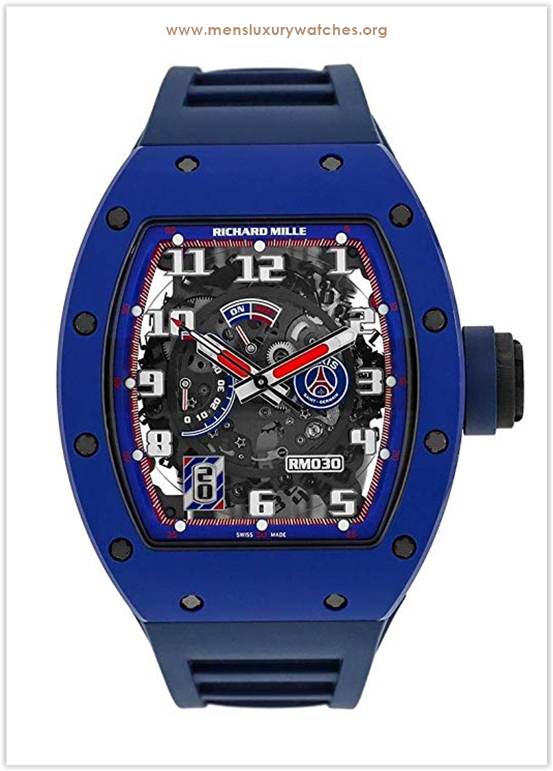 Richard Mille Ceramic Paris PSG Paris Sa