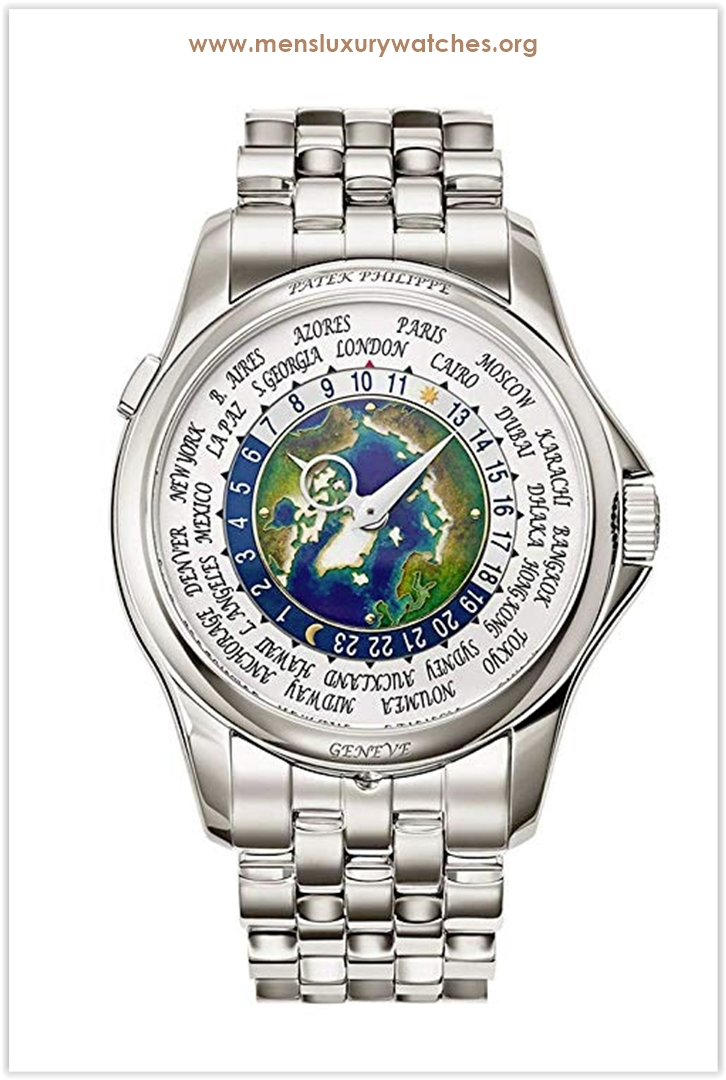 Patek Philippe World Time Men's Watch th