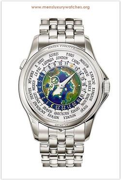 Patek Philippe World Time Men's Watch th