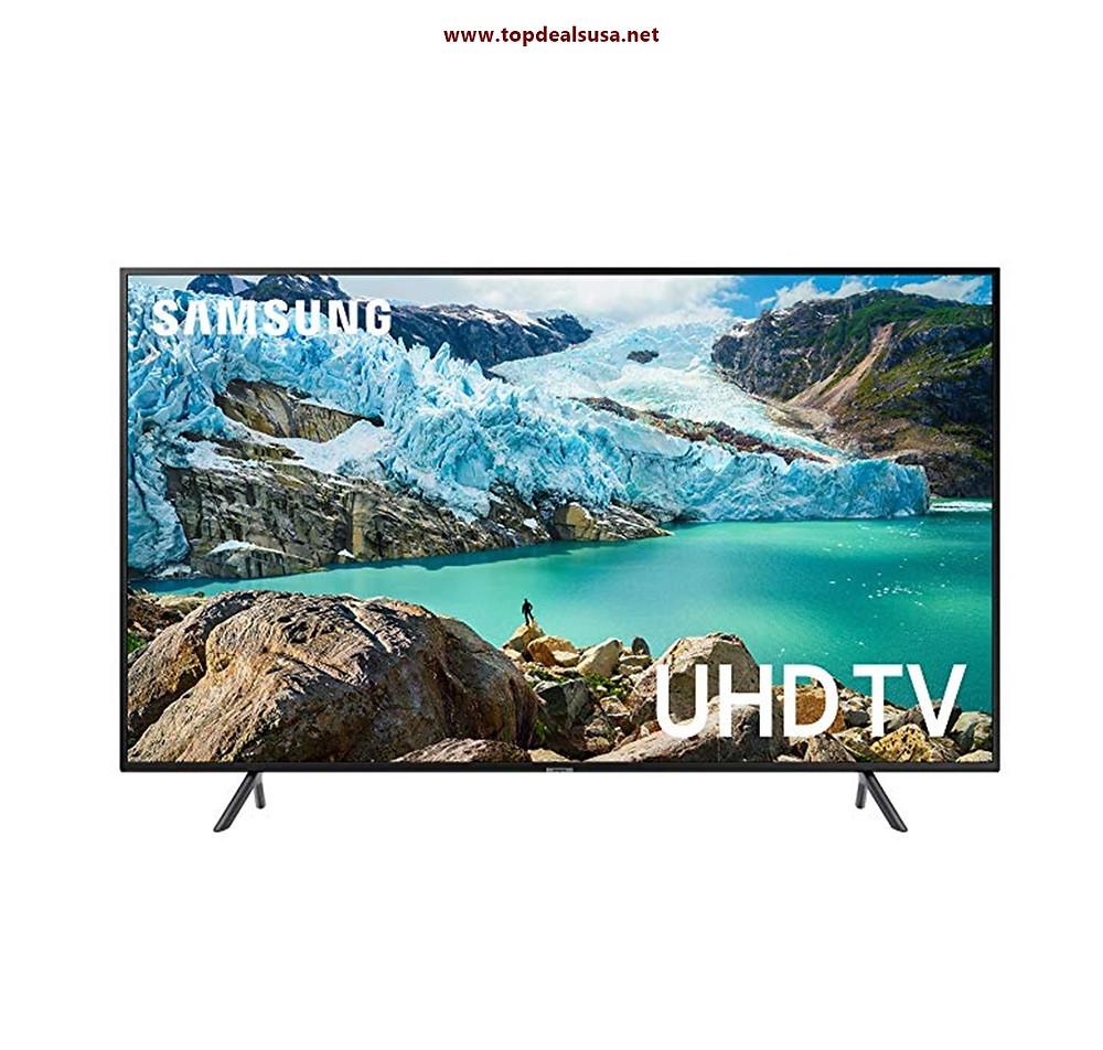 Samsung UN65RU7100FXZA Flat 65'' 4K UHD 7 Series Smart TV best buy