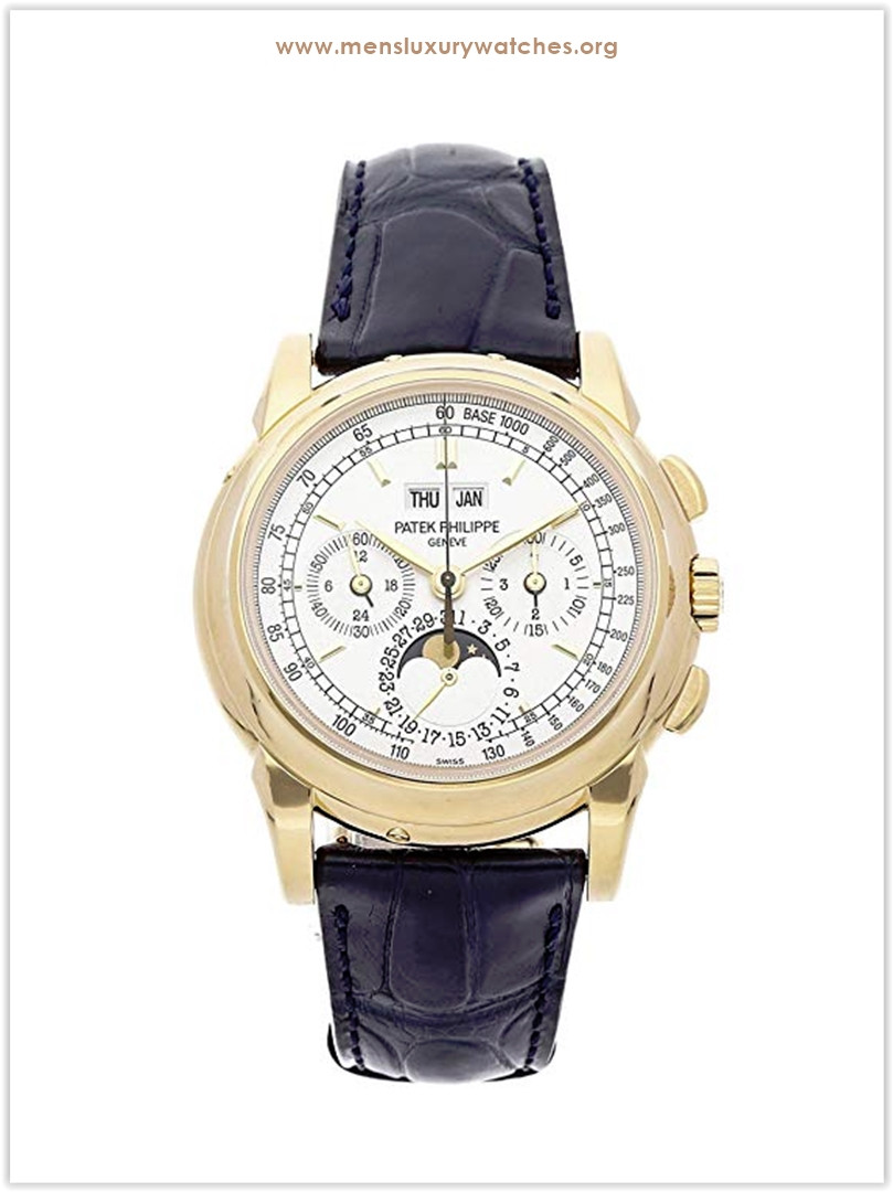 Patek Philippe Grand Complications Mechanical Silver Dial Men's Watch