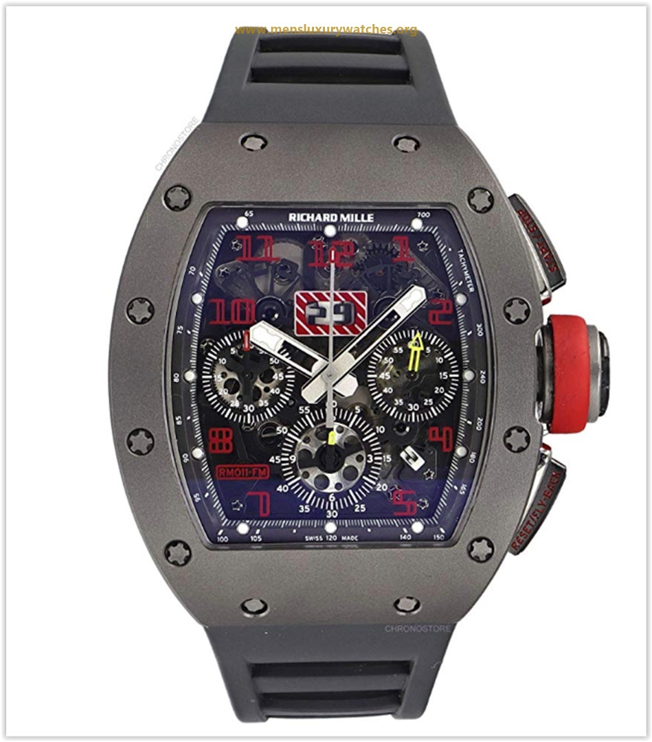 Richard Mille RM 011  Male Watch RM011 (Certified Pre-Owned)