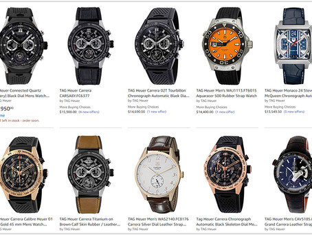How much do TAG Heuer Men's Watches cost?