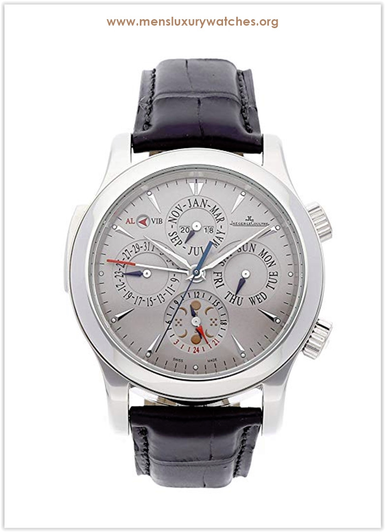 Jaeger-LeCoultre Master Mechanical (Automatic) Grey Dial Men's Watch Price