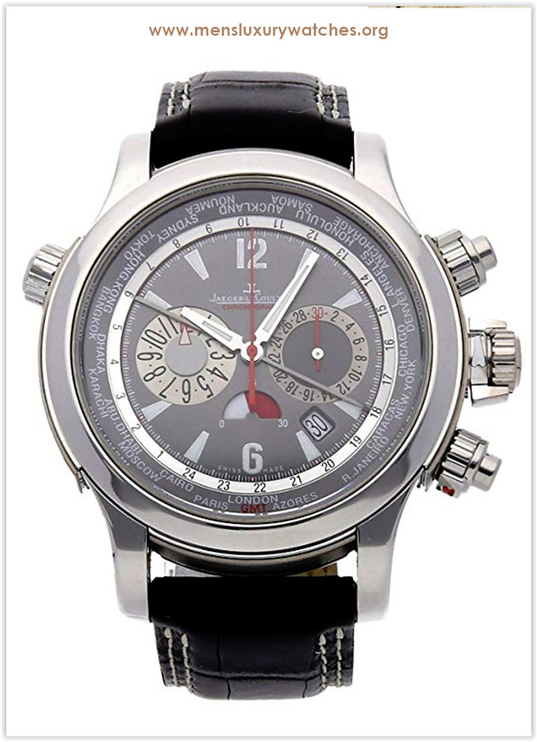 Jaeger-LeCoultre Master Compressor Mechanical (Automatic) GreyCharcoal Dial Men's Watch Price