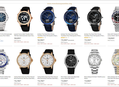 The 20 Best Luxury Watches for men with limited stocks