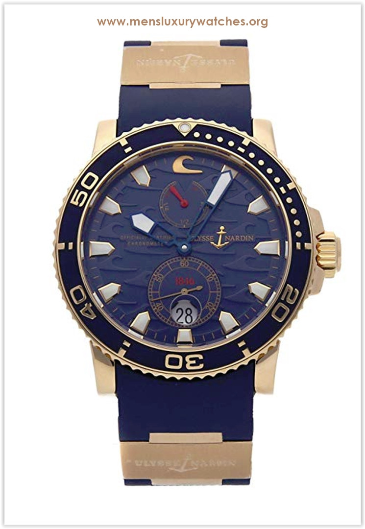 Ulysse Nardin Marine Mechanical (Automatic) Blue Dial Men's Watch the best price