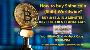 How to buy Shiba coin (Shib) Worldwide?