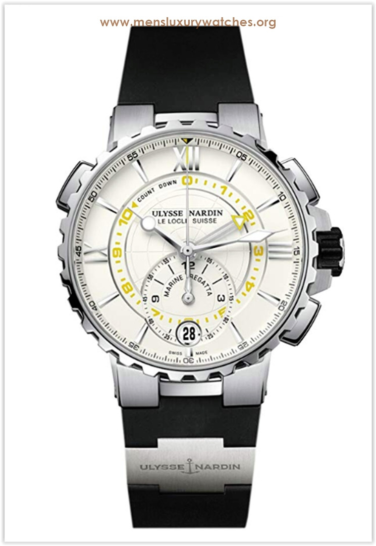 Ulysse Nardin Marine Regatta Stainless Steel  Rubber Men's Watch the best price