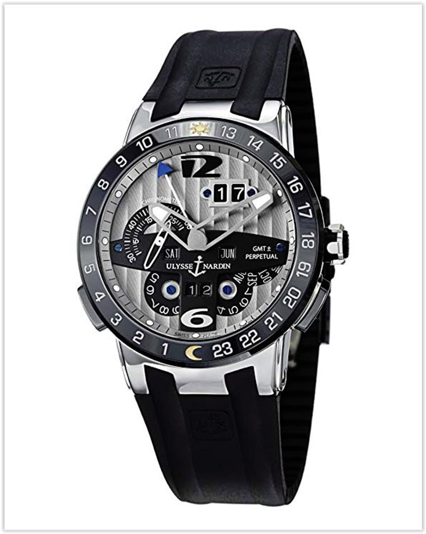 Ulysse Nardin El Toro Perpetual Calendar Automatic Rubber Strap Men's Watch price