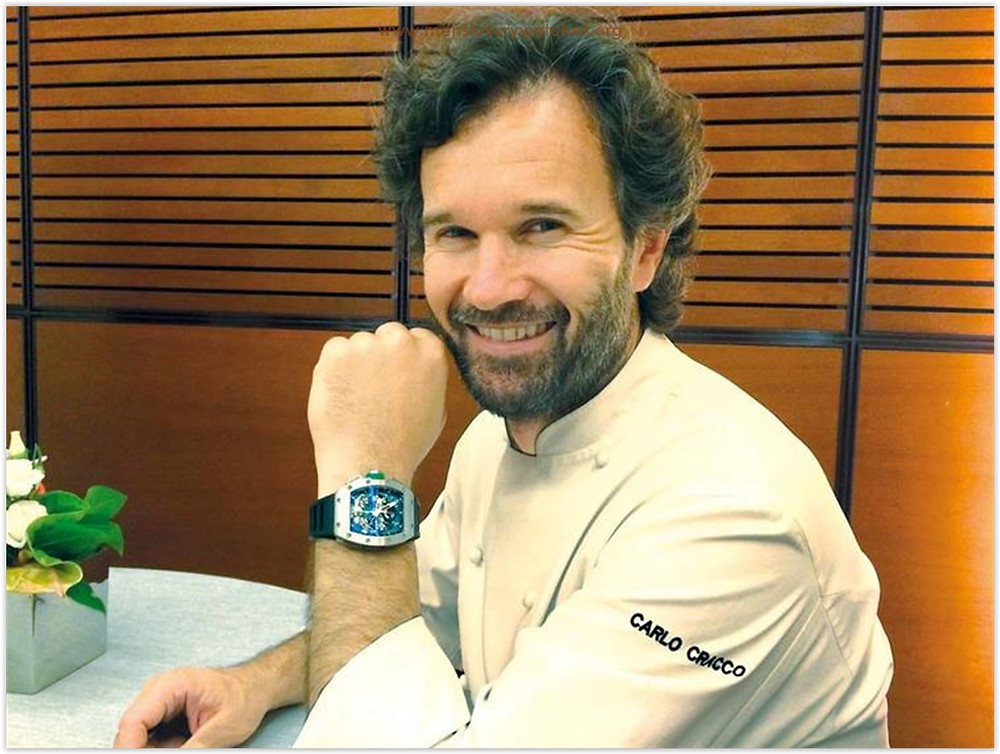 Carlo Cracco Richard Mille Watches