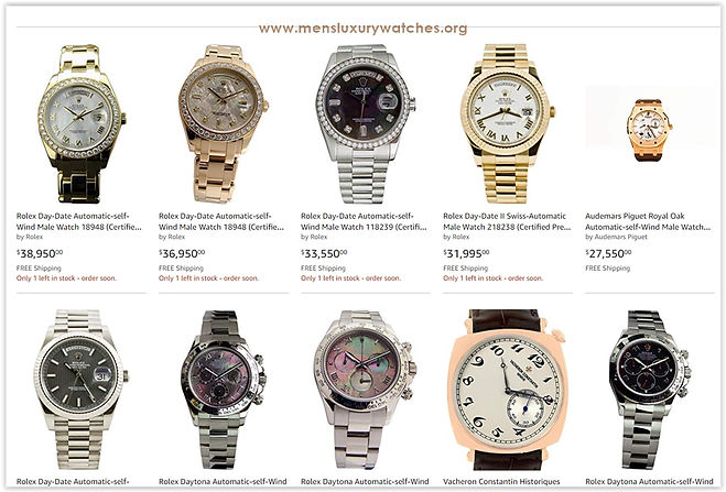 To buy Used Gold Watches