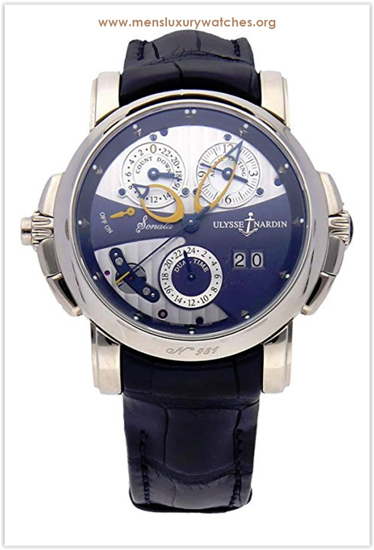 Ulysse Nardin Sonata Mechanical (Automatic) Blue Dial Men's Watch the best price