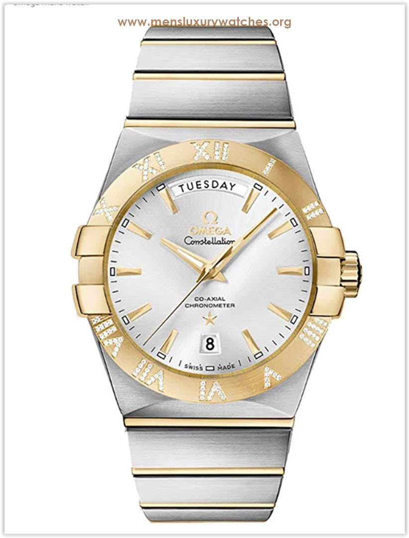 Omega Constellation Yellow Men's Watch Price