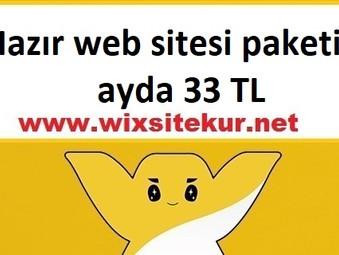 Hazır web sitesi paketi