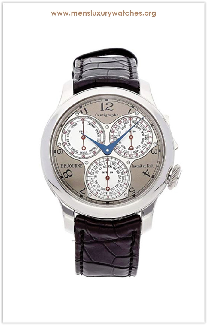 F.P. Journe Souverain Mechanical (Hand-Winding) GreyCharcoal Dial Men's Watch The Best Price