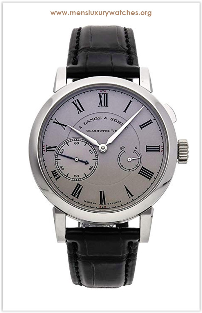 A. Lange & Sohne Richard Lange Mechanical (Hand-Winding) Rhodium Dial Men's Watch Price