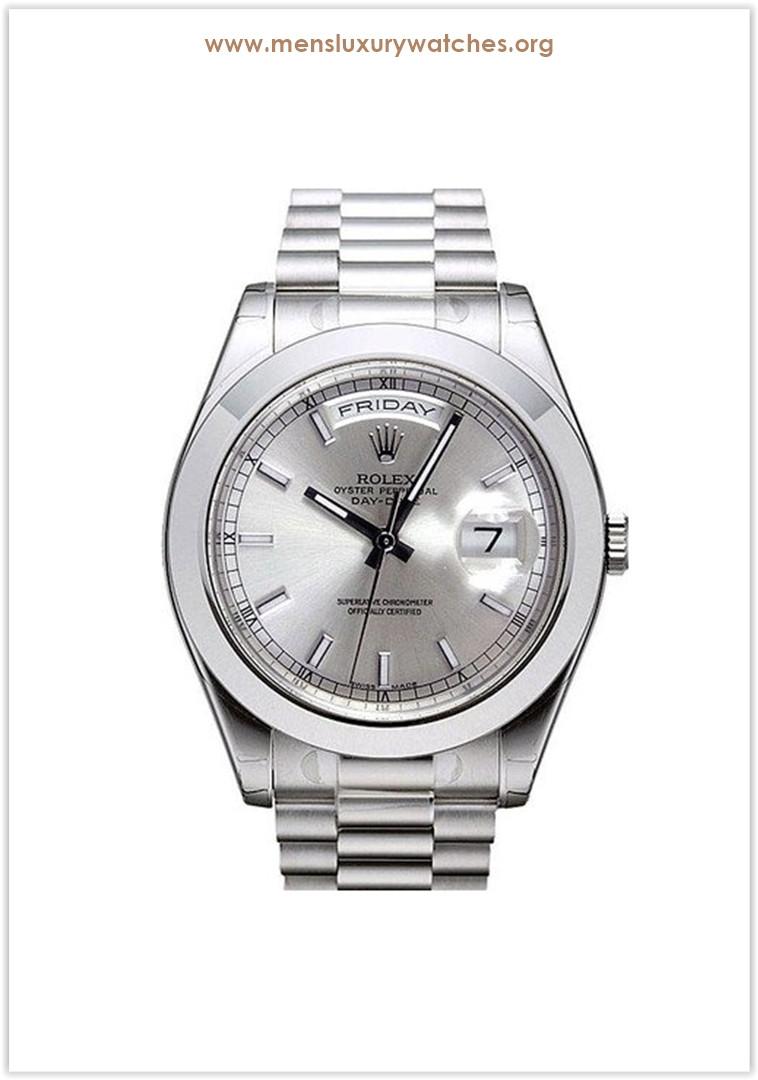 Rolex Day-Date II Platinum Men's Watch Price