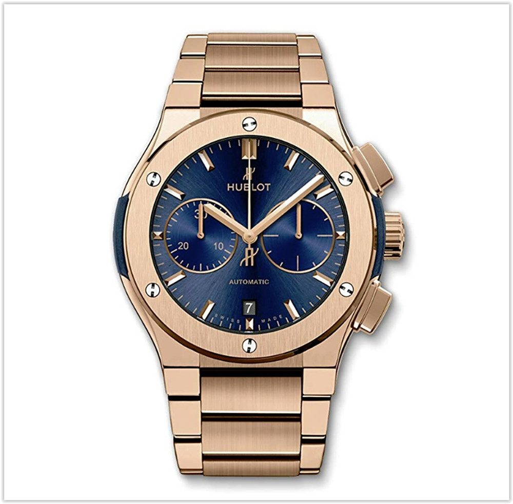 Hublot Classic Fusion Chronograph 45mm Mens Watch Rose Gold Buy online