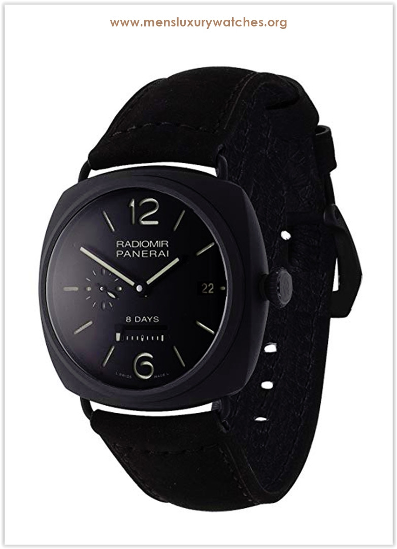 Panerai Radiomir 8 Days Ceramica Manually Wound Men's Watch Price