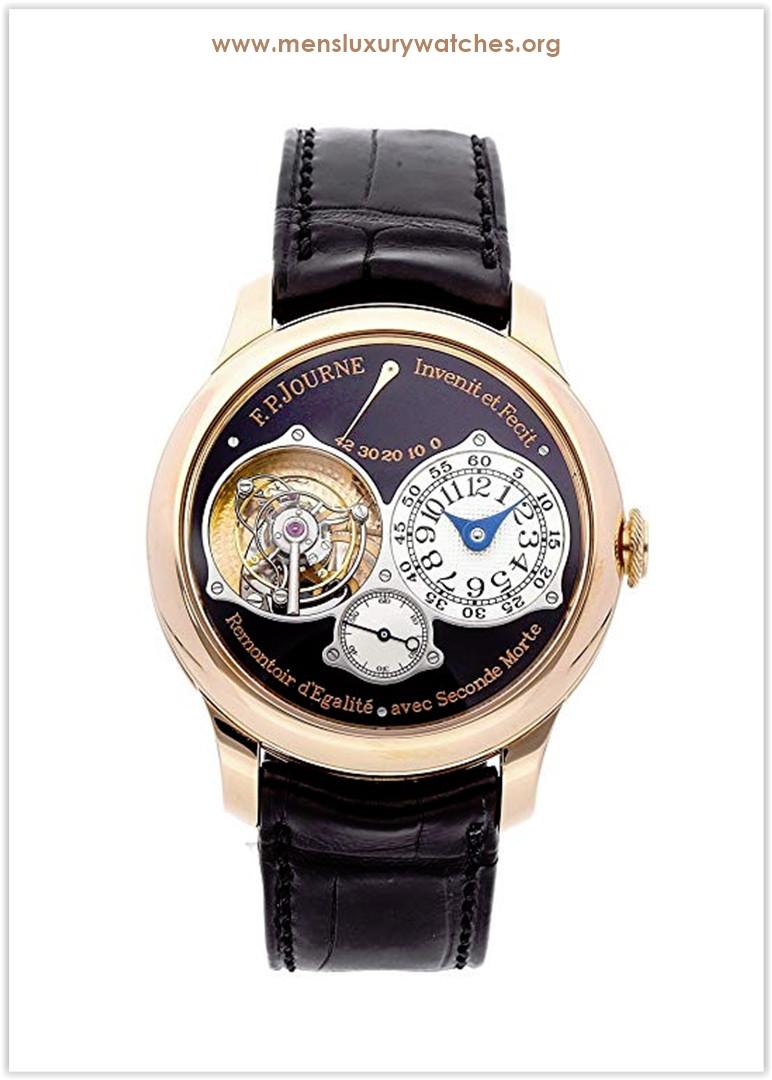 F.P. Journe Souverain Mechanical (Hand-Winding) Black Dial Men's Watch Tourbillon Souverain Price