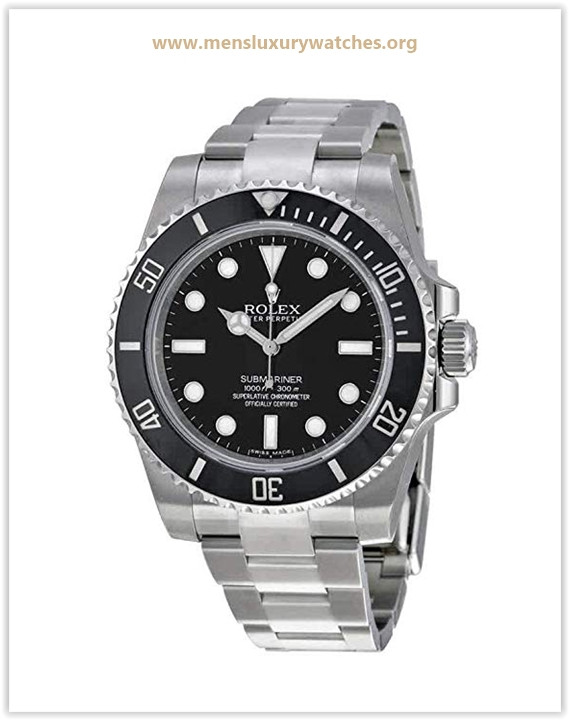 Rolex Submariner Black Dial Stainless Steel Automatic Men's Watch Price May 2019
