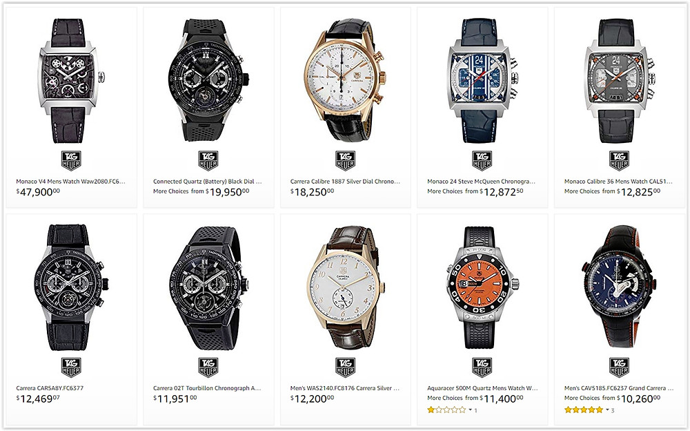 Best Tag Heuer luxury watches for men
