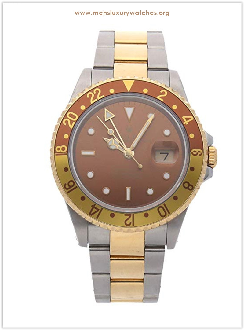 Rolex GMT Master II Mechanical (Automatic) Brown Dial Men's Watch 16713 The best price
