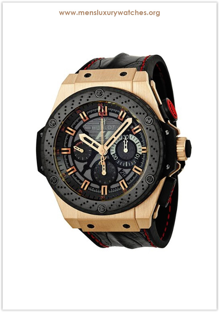 Hublot King Power F1 Chrono Rose 18K Gold Men's Watch Limited edition Price