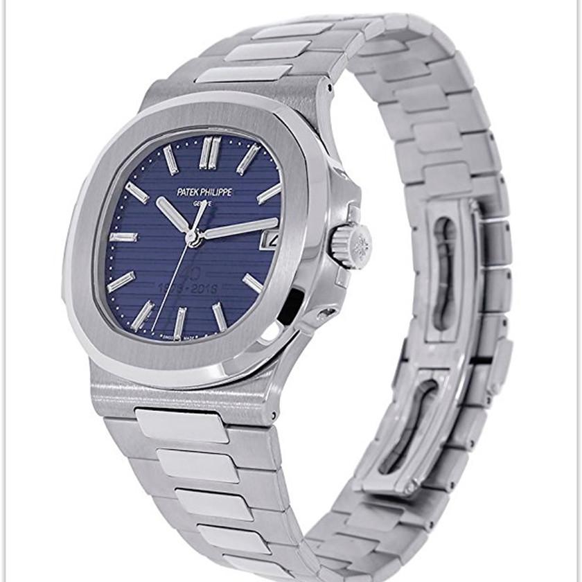 Patek Philippe Nautilus 40mm Platinum 40th Anniversary Watch